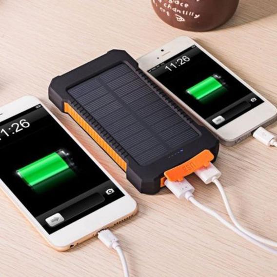 Portátil Solar Externo Bateria Carregador Baterias Viagem Ba