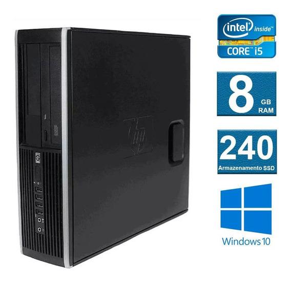 Computador Desktop Hp Elite 8200 I5 8gb 240ssd