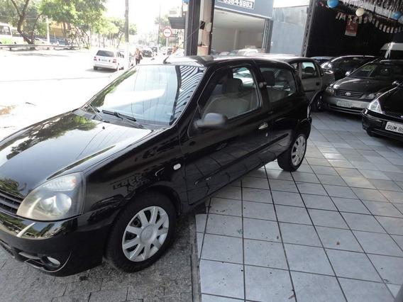 Renault Clio 1.0 16v Campus Hi-flex 3p 2011 Sinistrado