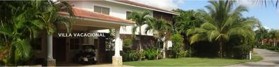 En Juan Dolio, Villa Con 484 Mts2