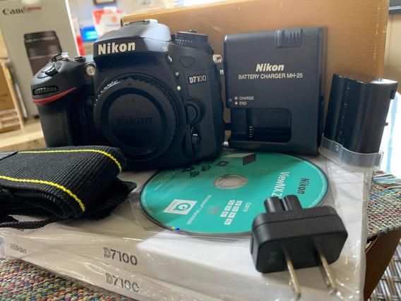 Câmera Nikon D7100
