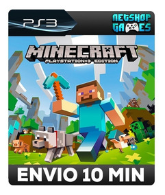 Minecraft: Playstation®3 Edition - Psn Ps3 - Pronta Entrega
