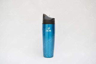 Squeeze Em Inox * Azul* Sport Garrafa 900ml Academia - Acte