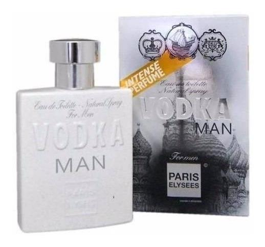 Perfume Vodka Man Paris Elysees - Inspiração 212 Vip Man