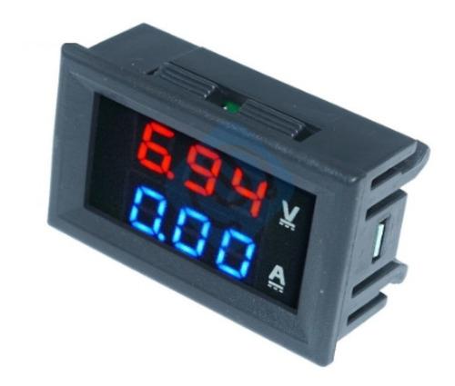 Voltimetro Amperimetro Digital Dc 0-100v 10a