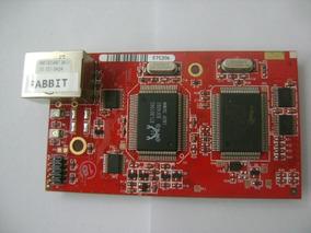 Placa De Desenvolvimento De Micro Processador Rabbit