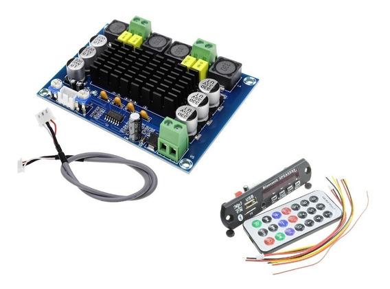 Amplificador 240wrms Uso Residencial Ativaçao Caixa Acústica