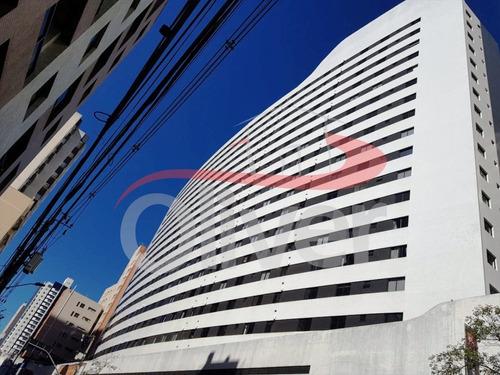 Imagem 1 de 26 de Edifício Brigadeiro Towers, Apartamento 2 Dormitórios, Vaga De Garagem, Centro, Curitiba, Parana - Ap00461 - 33271265