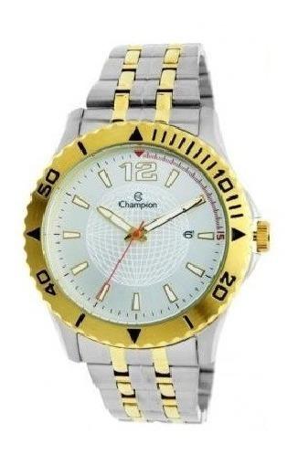 Relógio Champion Bicolor Masculino Ca31462b