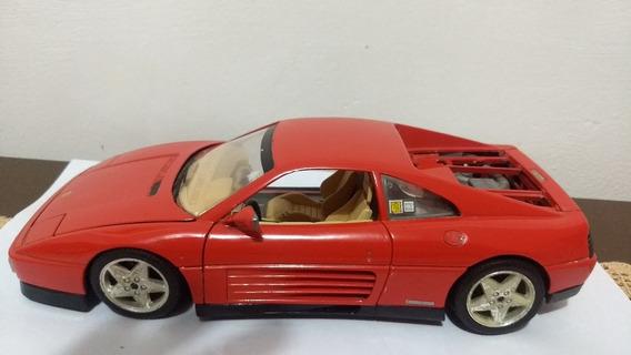 Miniatura Ferrari Tb 348 1989 Bbugaro 1/18