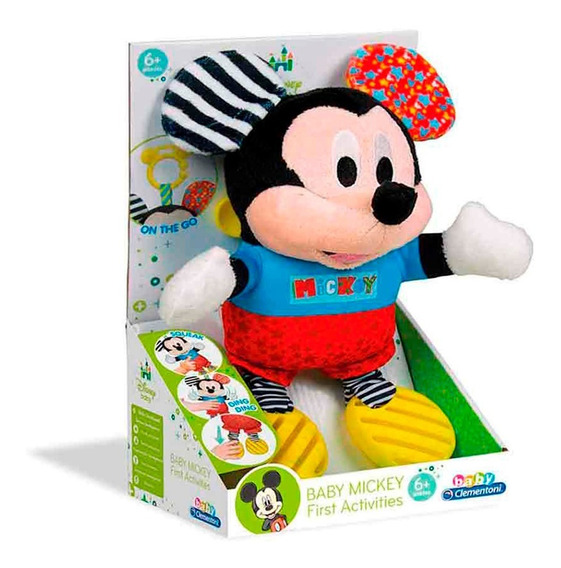 Pelucia Mickey Baby Multikids - Br809