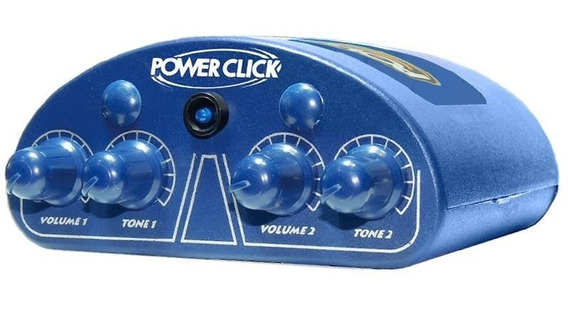 Power Click Cin.power Blue Monitor Áudio De Fone De Ouvido