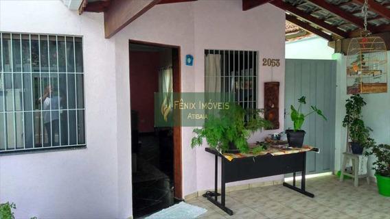 Casa Em Atibaia, Centro - A/t 154 M² - V248