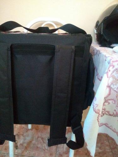 Imagem 1 de 5 de Bolsa De Motoboy Para Marmitex Capacidade Para 20 Marmitas