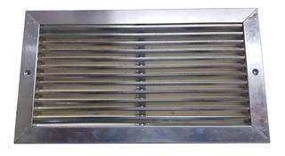 Rejilla De Aluminio Al Natural 40x20 - Interpolar