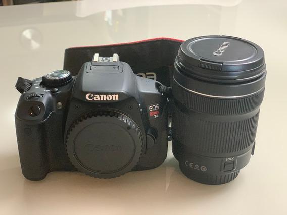 Câmera Canon Eos Rebel T4i