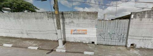 Terreno Residencial À Venda, Vila Euclides, São Bernardo Do Campo. - Te0383