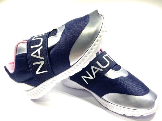 Tenis Nautica Zapatos Deportivos Niñas No.28 Origila 100%