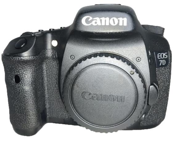 Câmera Canon Eos 7d Perfeito Estado Seminova