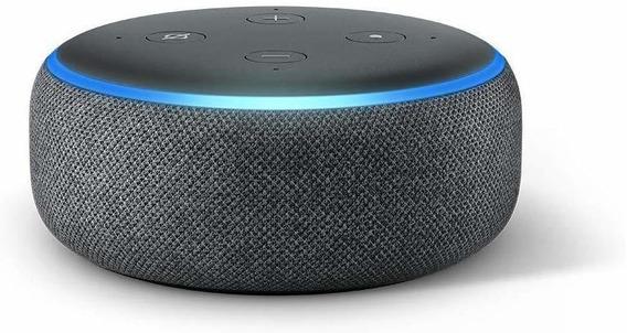 Echo Dot Amazon - Smart Speaker Com Alexa 3° Geração.
