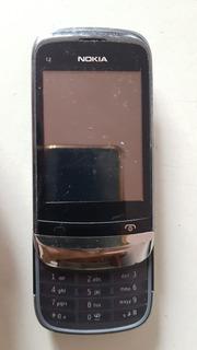 Celular Nokia C2-06 Sucata Leia A Descrição Ref: R341