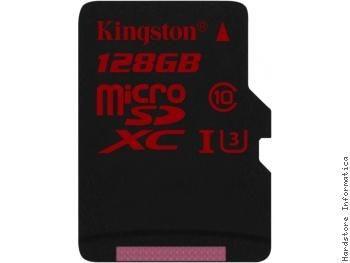 Kingston 128gb Microsdhc Card (class 3) Sdca3/128gb