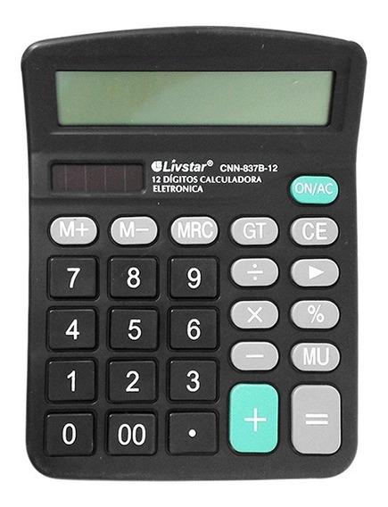 Calculadora 12 Dígitos Livstar