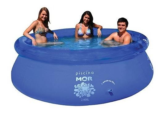 Piscina Splash Fun 2400 Litros 0,63x2,40m 001053 Mor
