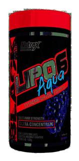 Lipo 6 Aqua Ultra Concentrado Grape (132g) - Nutrex Research