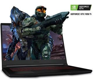 Laptop Gamer Msi Gf63 Nvidia Geforce Gtx 1050 Ti I5 8gb 1tb