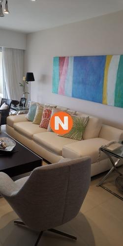 Apartamento En Alquiler, Mansa, Punta Del Este, 3 Dormitorios.- Ref: 201515