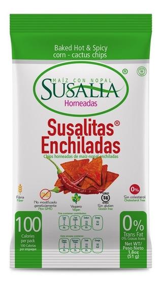 Susalitas Enchiladas 51g Caja 12 Pzs.
