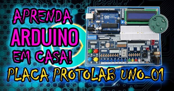 Kit Arduino Pro Makers Placa + Apostilas + Fonte + Jumpers..