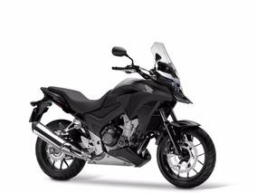 Moto Honda Cb500x 2017 Abs Negro Mate Entrega Inmediata
