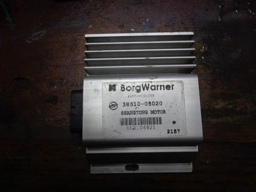 Vendo Computadora De Ssang Yong Rexton, Aut. # 38510-05020.