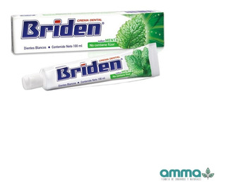 Briden Crema Dental Sin Flúor Caja 10 Pz 100ml