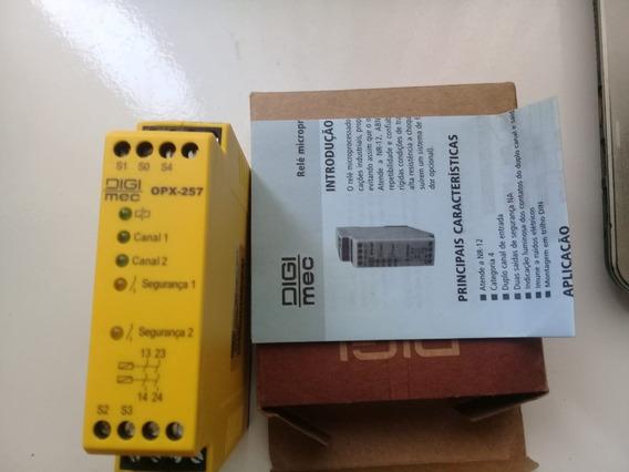 Rele De Segurança Nr12 Digimec Opx-257 24vca/vcc T4 [p]