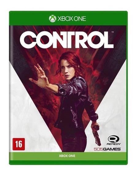 Control - Xbox One - Mídia Física - Novo - Lacrado -original