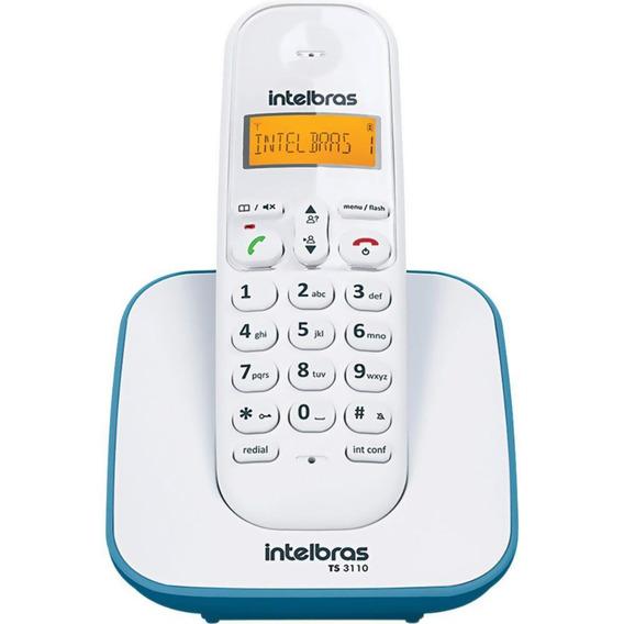 Telefone Sem Fio Intelbras Ts3110 Com Identificador Azul