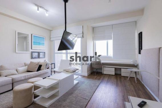 Studio Com 1 Dormitório Para Alugar, 45 M² Por R$ 2.300,00/mês - Alphaville - Santana De Parnaíba/sp - St0003