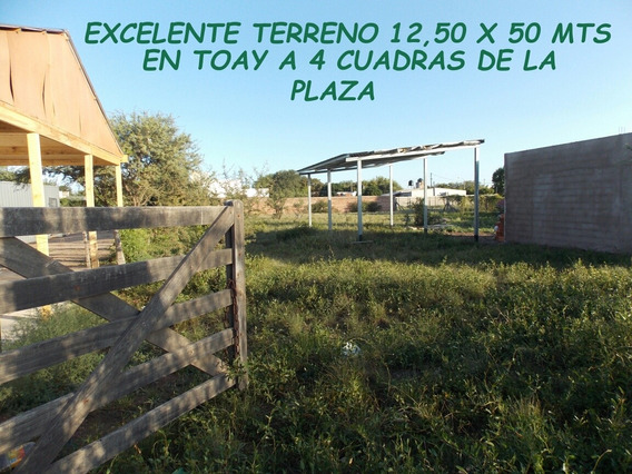 Terreno En Toay La Pampa