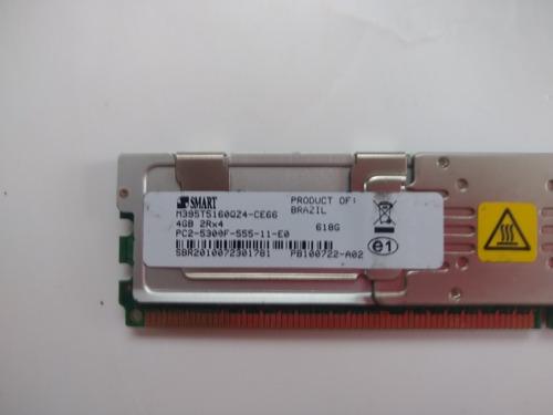 Imagem 1 de 2 de Memoria Marca Smart 4gb Fbdimm M395t5160qz4-ce66