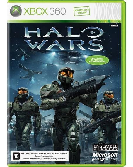 Halo Wars Xbox One / 360 Original Midia Fisica Novo Lacrado