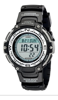 Reloj Casio Sgw-100-1v Sumergible, Temperatura Envio Gratis!