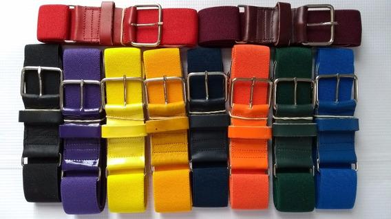 Cinturon Beisbol Cinto Varios Colores Elastico Elije Uno