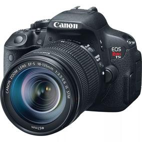 Canon T5i + Lente Efs 18-55mm + Cartão 32gb - 5500 Clicks