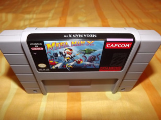 Megaman X Reprogp Super Nintendo Snes