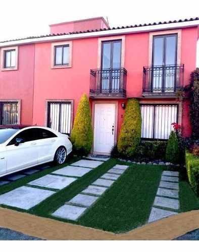 Se Renta Casa Fraccionamiento Privado Valle De La Hacienda Toluca