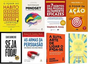 O Poder Do Hábito + Mindset + O Poder Da Ação + 5 Livros