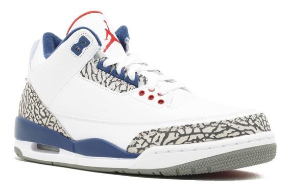 Tênis Nike Air Jordan 3 True Blue